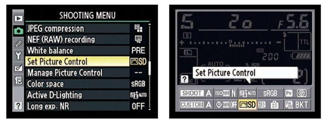 Picture Controls apply preset adjustments to color, sharpening, and other photo characteristics to images you shoot in the JPEG or TIFF file formats.