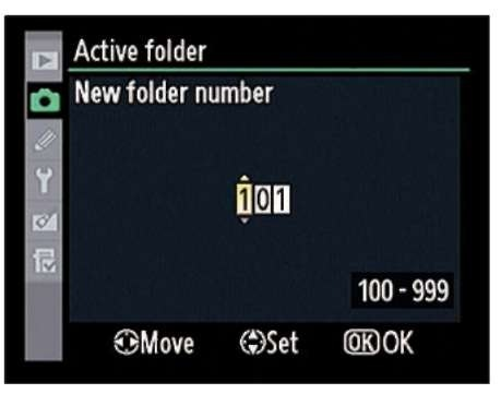 Highlight a number and press the Multi Selector up or down to change it.