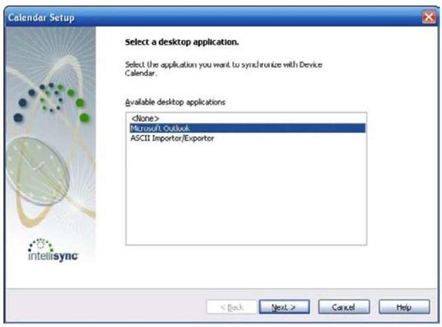 Choose the desktop application here.
