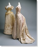 Charles Frederick Worth and House of Worth: Evening dresses (C.I.49.3.25a,b)