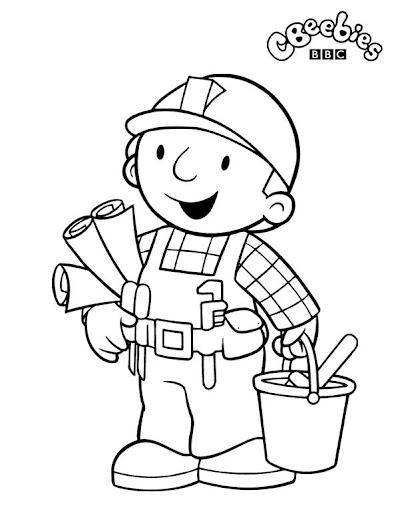Bob el constructor para colorear