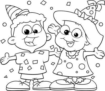 為孩子們的著色頁 Celebration Free Coloring Pages Celebration Coloring Pages
