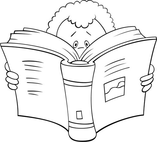 Niños leyendo caricatura - Imagui