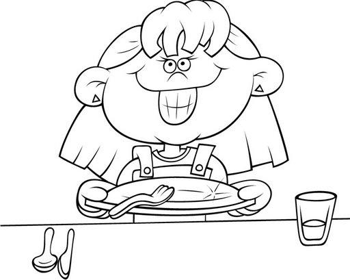 Comer para pintar - Imagui