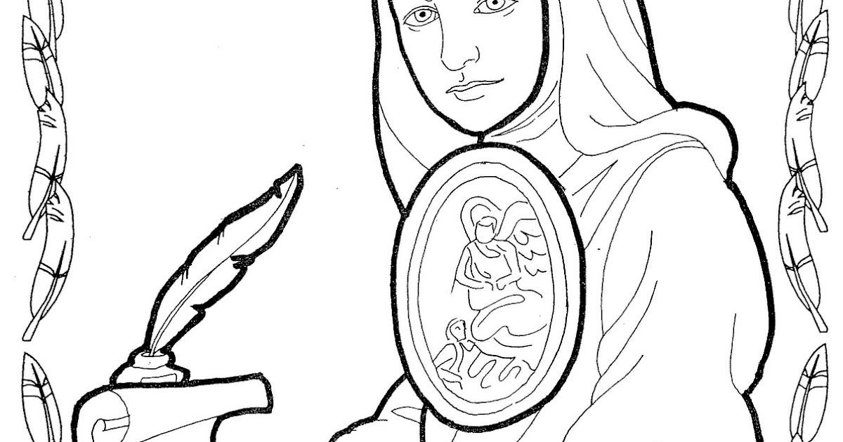 Sor Juana In 233 S De La Cruz Free Coloring Pages Coloring