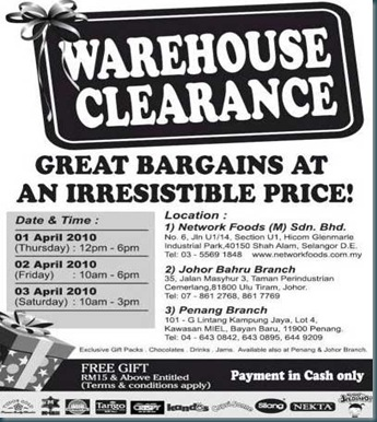 Network-Foods-2010-Warehouse-Clearance-Sale