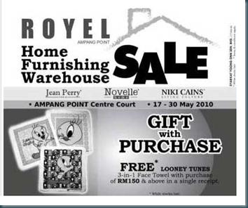 Royel Sale