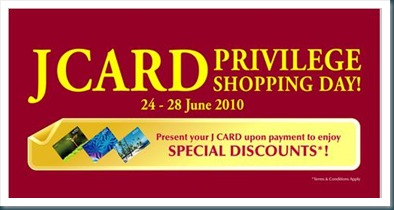 Jcard Shopping Privilege