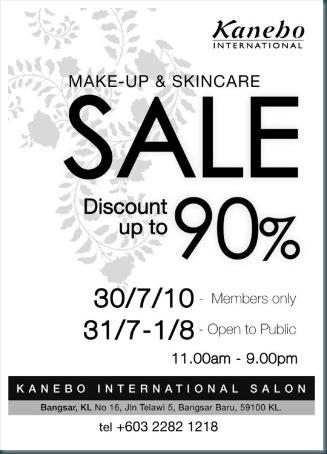 kanebo-warehouse-sale
