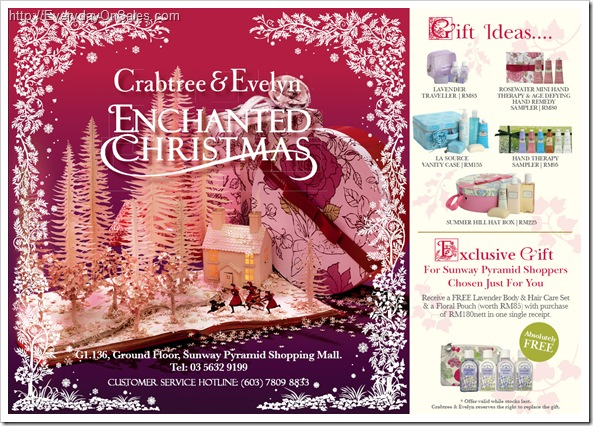 Sunway_Pyramid_Crabtree_Evelyn_Enchanted-Christmas