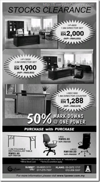 One-Power-Furniture-Stock-Clearance