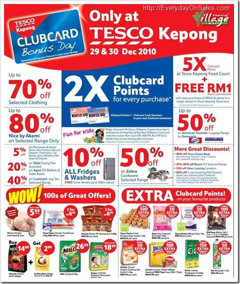 Tesco-Clubcard-Bonus-Day