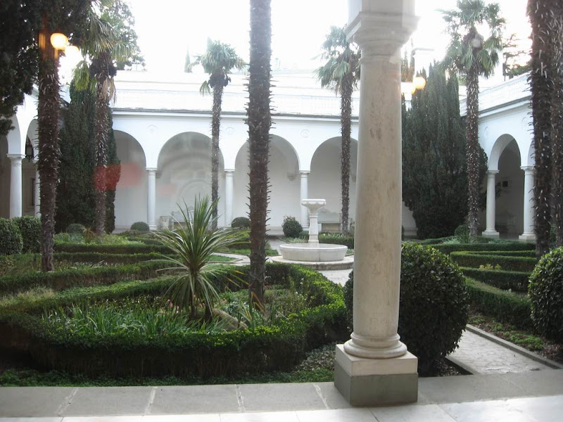 Spanish Courtyard at the palace