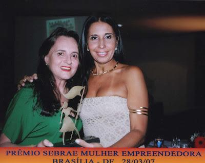 Monica Burich  e Senadora Seres Slhessarenko - Historias de Sucesso, SEBRAE