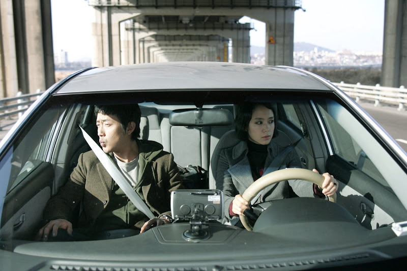 Jung-woo HA as Byoung-woon, Do-youn JEON as Hee-soo in MY DEAR ENEMY