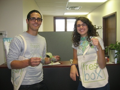 Freshbox Catering Street Team