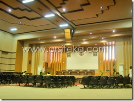 Eksisting3 - Arsiteka (Ruang Sidang Paripurna DPRD Kabupaten Malang)
