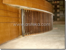 bawah panggung3 proses - Arsiteka (Ruang Sidang Paripurna DPRD Kabupaten Malang)