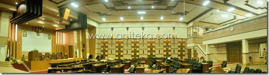 Finish3 - Arsiteka (Ruang Sidang Paripurna DPRD Kabupaten Malang)
