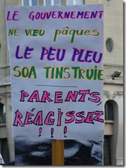 Paris, Manif 118