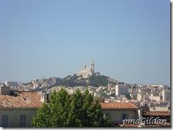 Marseille, vue de St Charles.