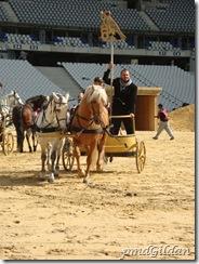 Répetition AIDA, Stade De France, Char de Radamès (Dimitri Paksoglou)
