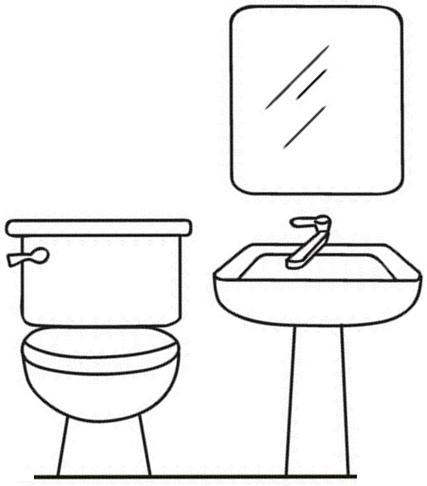 Dibujos de cosas de la casa para colorear for Cosas de hogar