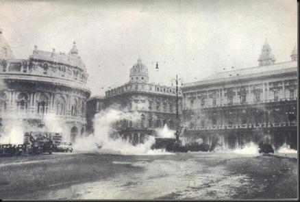 in piazza De Ferrari
