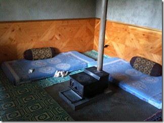 Manali - 22 - Bhagtu's dining room