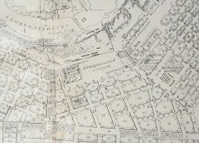 Адмиралтейская площадь (с плана г. Николаева нач. ХХ в)
