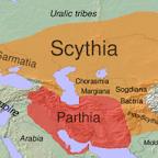 Приблизительная карта Скифии Европейской и Азийской в І тысячелетии до н.э.