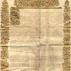 Ратификационная грамота к Кючук-Кайнарджийскому мирному договору с личной подписью Екатерины II