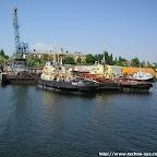 В каботажной гавани Николаевского порта. Современный вид