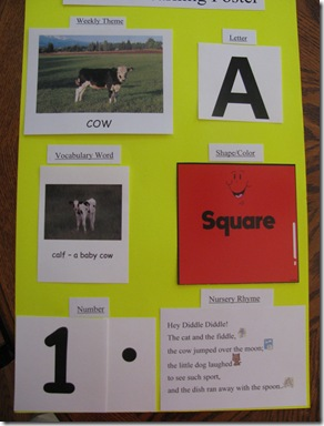 Aidens Learning Poster