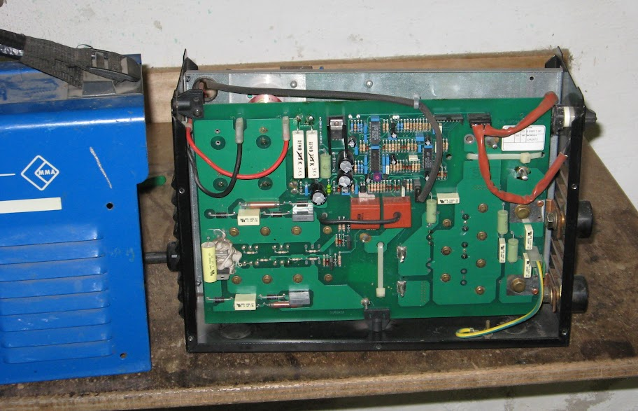 Schema Elettrico Saldatrice Inverter : Per esperienza ripariamo una saldatrice
