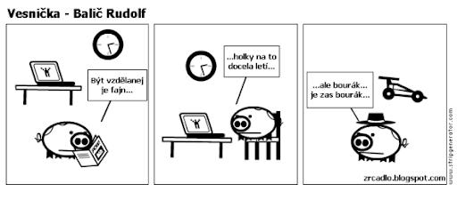 Komiks Vesnička - Balič Rudolf