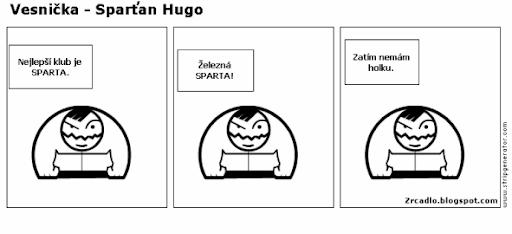 Komiks Vesnička - Sparťan Hugo
