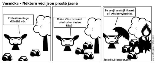 Komiks Vesnička - Některé věci jsou prostě jasné.