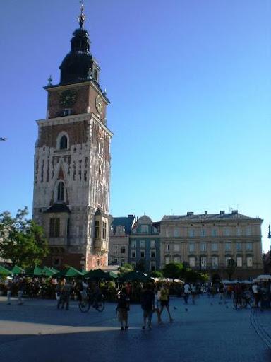 Krakov: Radniční věž