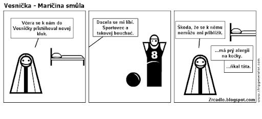 Komiks Vesnička - Maričina smůla.