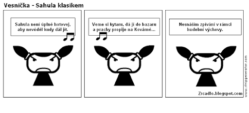 Vesnička - Sahula klasikem.