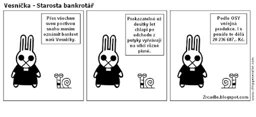 Vesnička - Starosta bankrotář.