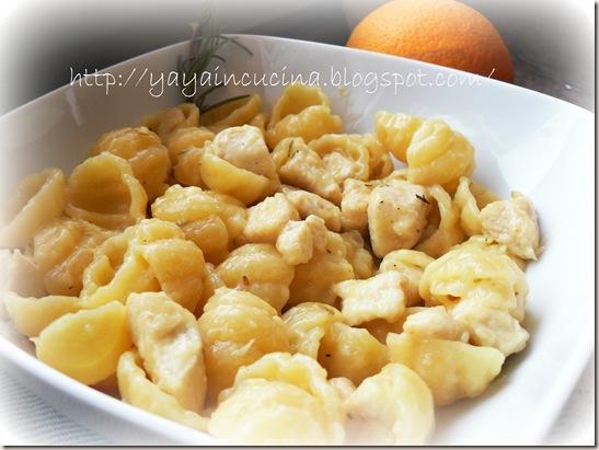 Pasta con ragù di pollo 012