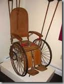 wheelchair - old