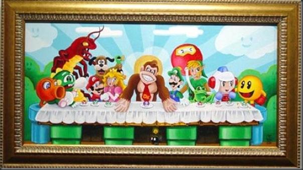 Super pinturas do super mario (19)