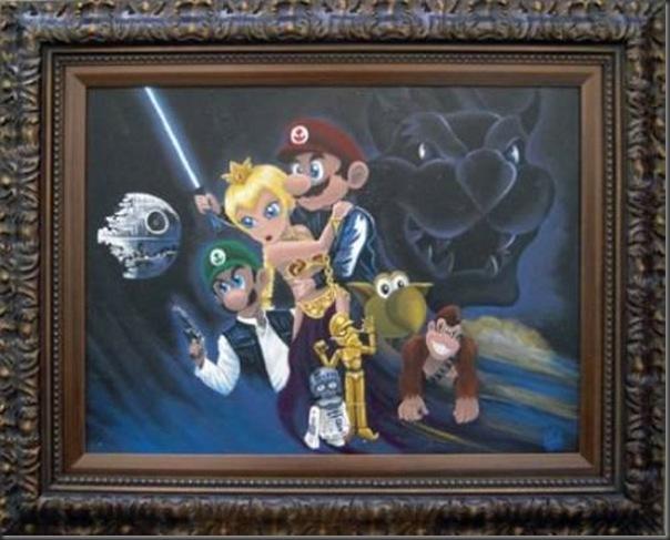 Super pinturas do super mario (6)