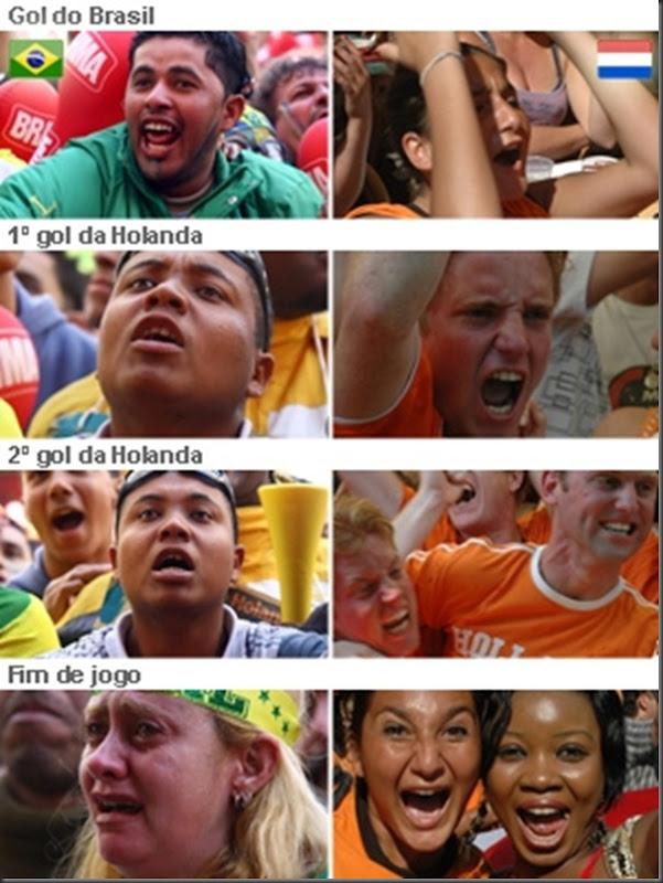 brasil perde para holanda