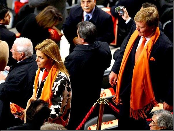 Willem Alexander e a princesa Maxima (3)