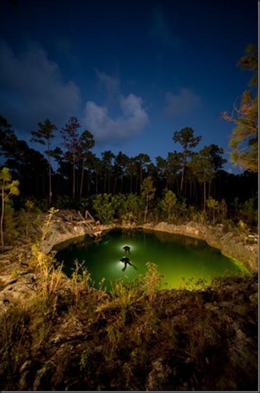 Lindas imagens de cavernas nas Bahamas (21)