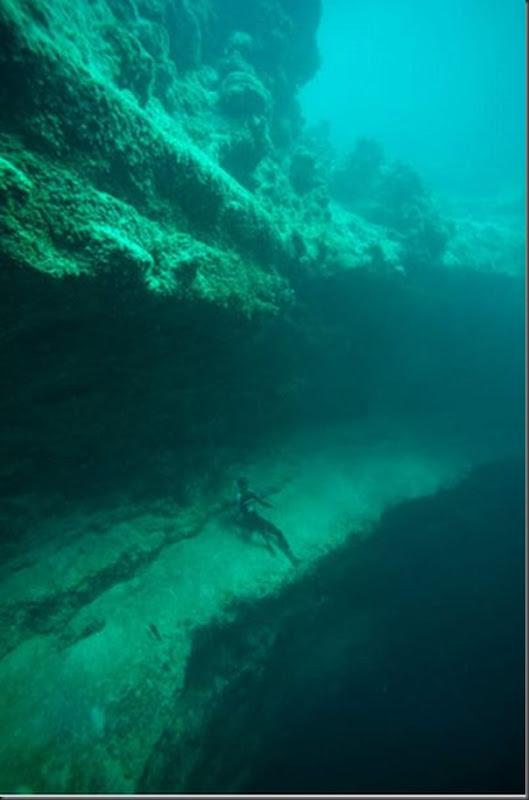 Lindas imagens de cavernas nas Bahamas (6)